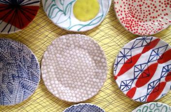 petites assiette valerie gutton gres couleur