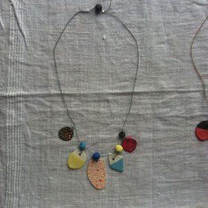 atelier bijoux collier valerie gutton ceramique porcelaine